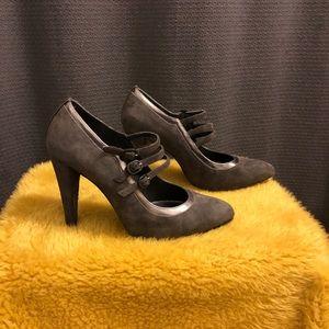 Stuart Weitzman Grey High Heels